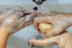 Пробуем отмыть мылом