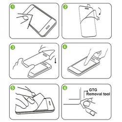как наклеить защитное стекло