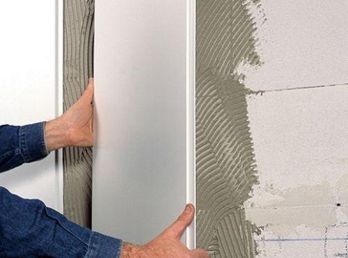 Мастер-класс как клеить панели ПВХ на стены