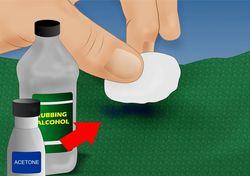 Как убрать пятна от клея разных видов