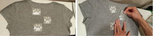 Мастер-класс как приклеить термонаклейку на одежду