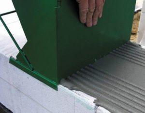 Кладка газосиликатного блока на клей