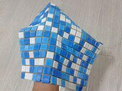 Мозаичная плитка на бумаге